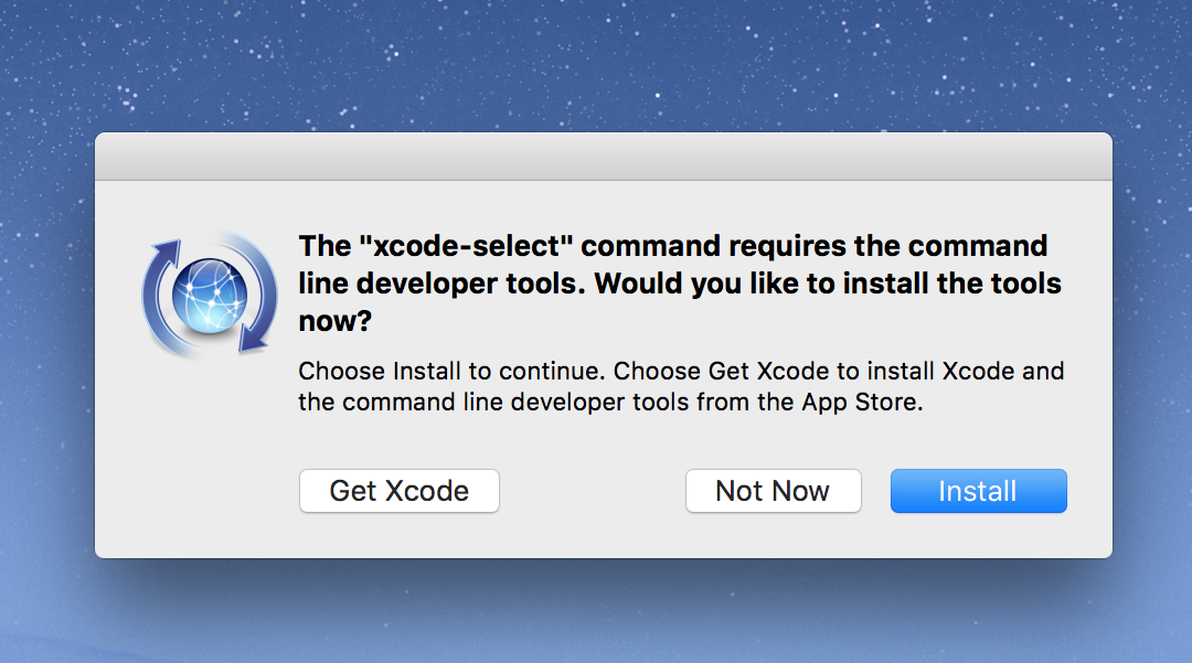 Xcode Install 1